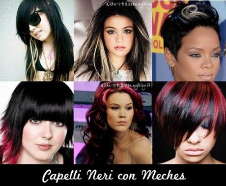 Capelli Viola Come Tingerli E Lo Shatush Capelli Castani