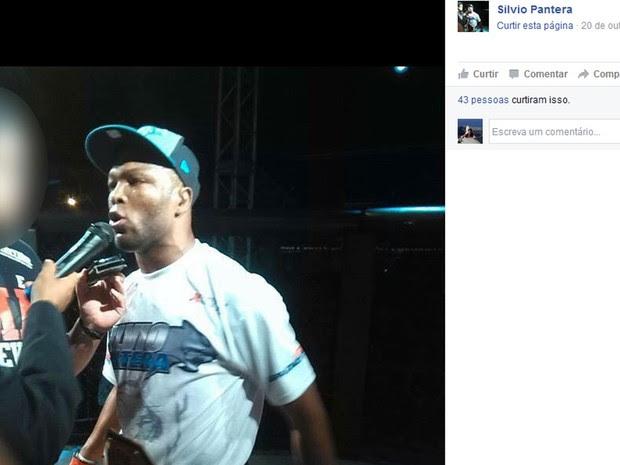 Silvio Pantera é lutador de MMA (Foto: Reprodução / Facebook)