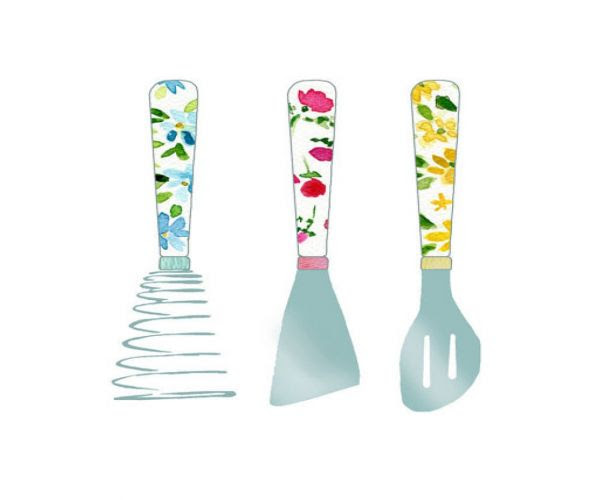 Kitchen Utensils Border Clipart Clip Art Library