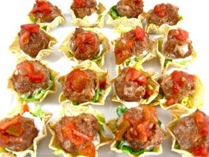 Mexican Meatball Appetizers