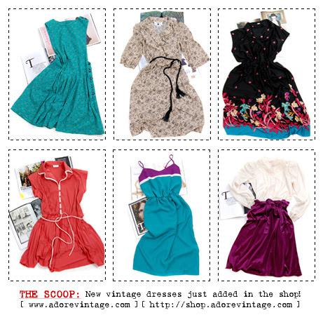 Vintage Dresses at Adorevintage.com