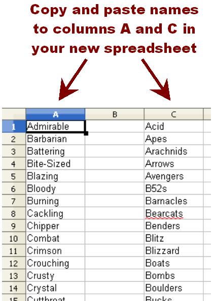 Team Name Generator Keywordsfind com