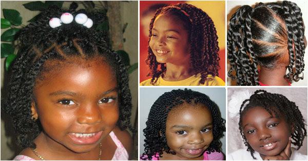 Twist Hairstyles For Black Baby Girl Kids Styles