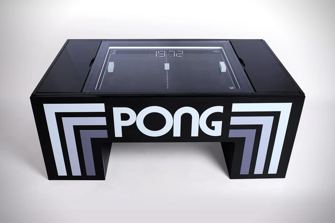 Let Nostalgia Kick In With This Awesome Pong Coffee Table