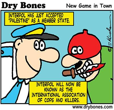 Interpol, Palestine, Israel,