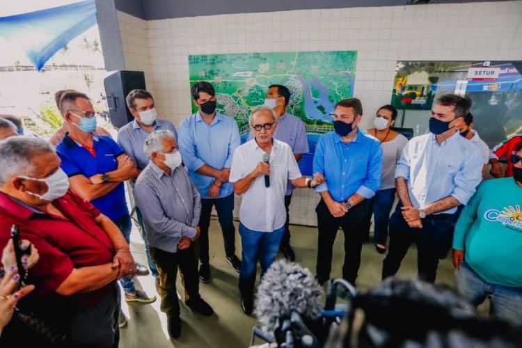 Cícero Lucena reativa Centro de Atendimento ao Turista em Tambaú e anuncia unidade móvel