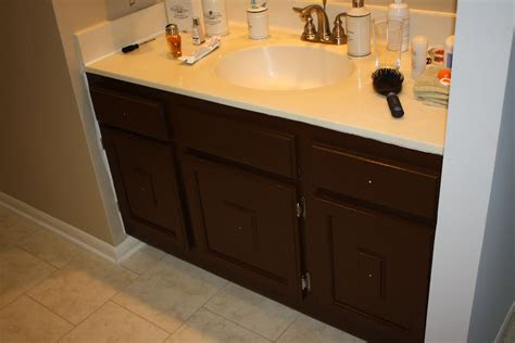 sparks fly painting bathroom cabinets