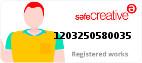 Safe Creative #1203250580035