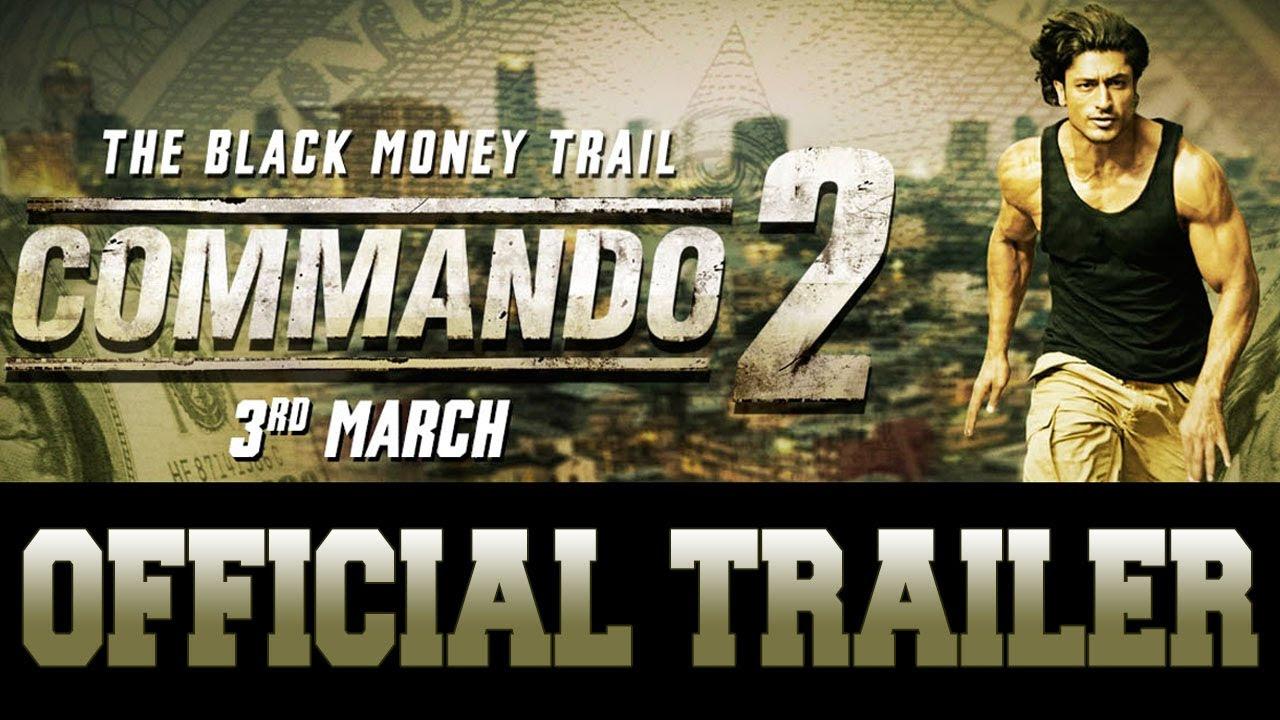 Commando 2 trailer, Commando 2