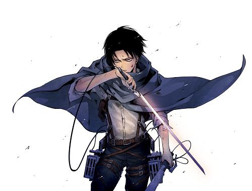 Wallpapers Shingeki No Kyojin Levi Dowload Anime Wallpaper Hd
