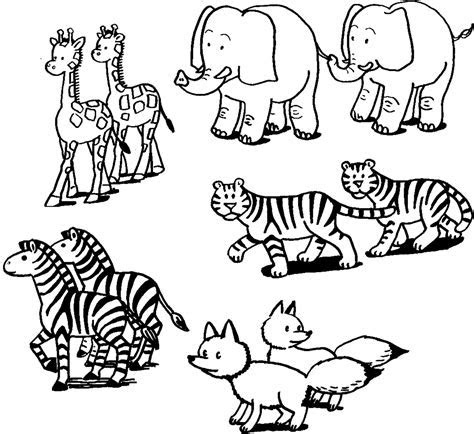 animals coloring pages realistic coloring pages