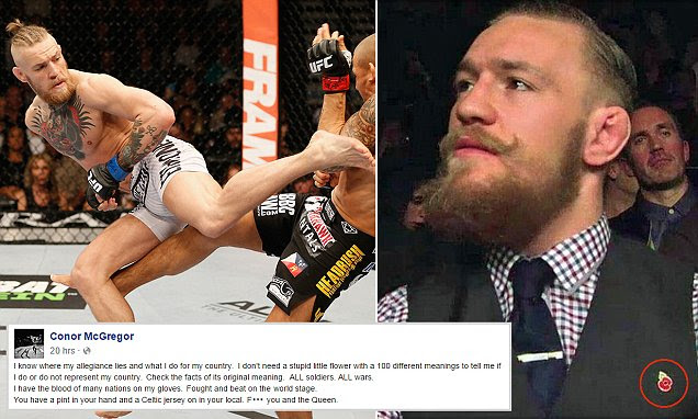 UFC star Conor McGregor rants 'f*** you and the Queen' in incredible Facebook outburst