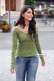South Indian Actress Anushka In Jeans
