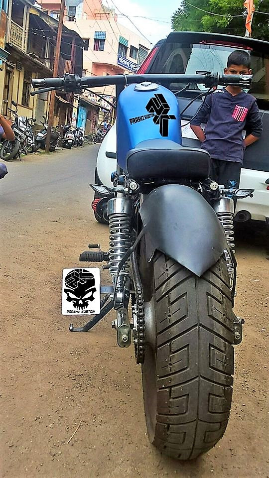 Modified Hero Super Splendor By Prashz Kustom Design