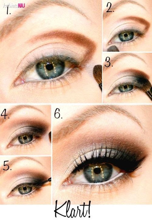 6 Smokey Eyes Make-up With Brown Shade Soften Whole Look !