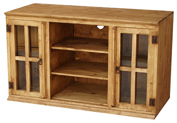 Rustic Pine Furniture for Your Hacienda - rustic - side tables and