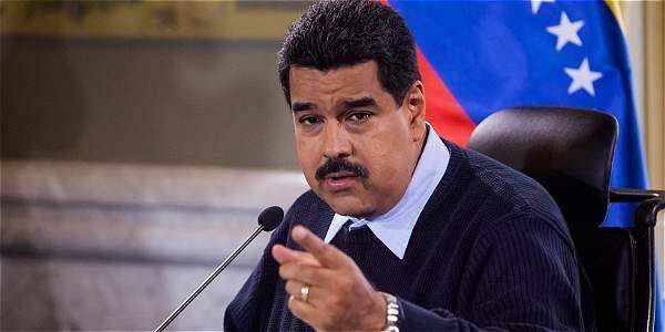 El presidente de Venezuela Nicolás Maduro.