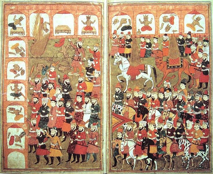 File:Muhammad destroying idols - L'Histoire Merveilleuse en Vers de Mahomet BNF.jpg