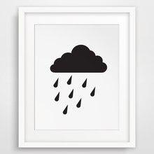 Compare Prices On Tanpa Bingkai Hujan Minyak Lukisan Online