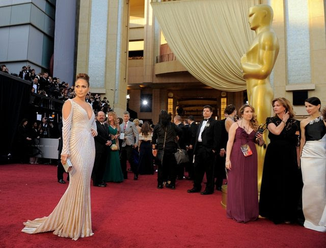vestido de Jennifer López Oscar 2012