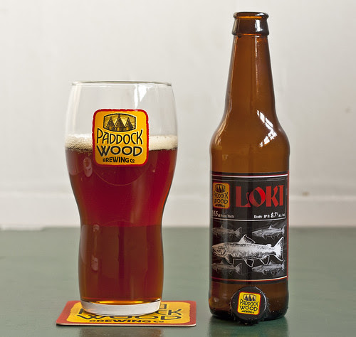 Review: Paddock Wood Loki Double IPA by Cody La Bière