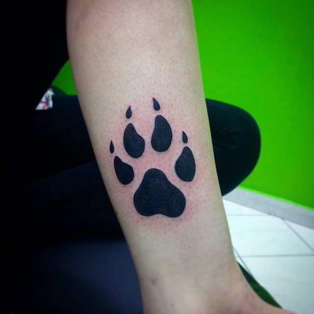 90 Best Paw Print Tattoo Meanings And Designs Nice Trails 2019