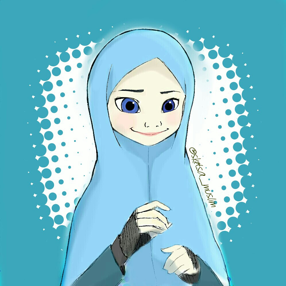 Elsa Muslimah by SketsaMuslim on DeviantArt