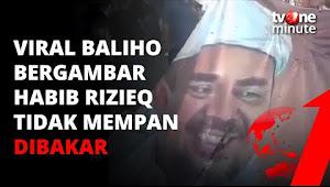 Aneh! Pendemo Tak Bisa Bakar Baliho Bergambar Habib Rizieq Sihab | tvOne