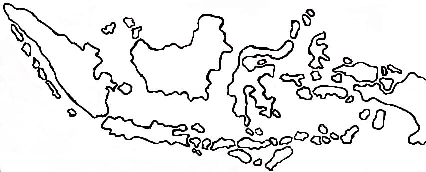 Gambar Peta Indonesia Gampang