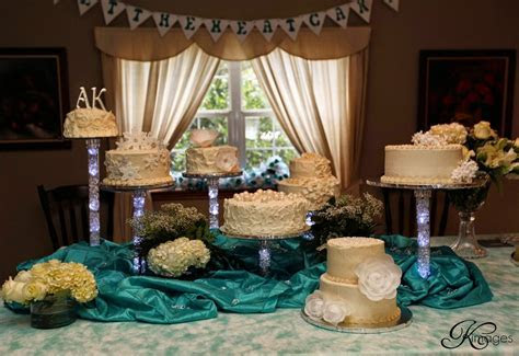 K's Cakes: Deconstructed Wedding Cakes