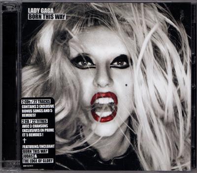 lady gaga born this way deluxe cd cover. LADY GAGA Born This Way USA