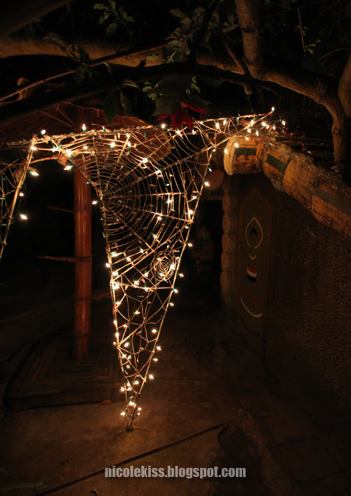 spider web light