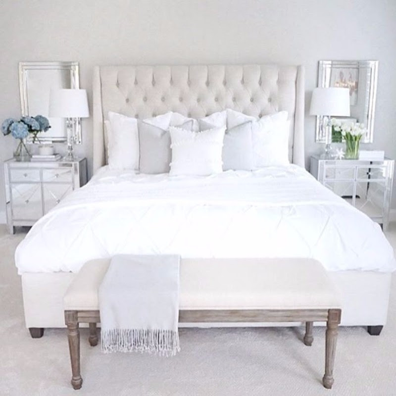 Pinterest's 10 Most Charming White Bedroom Designs