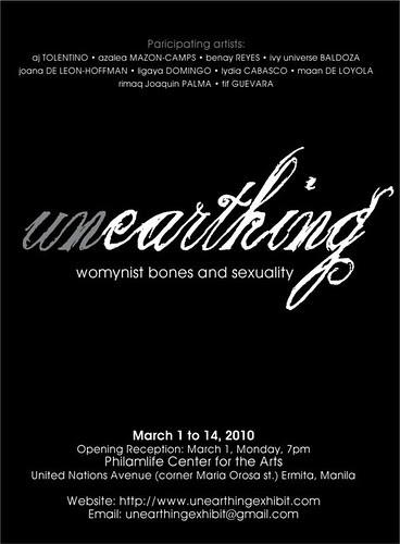 Unearthing Exhibit Poster