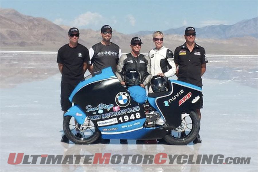 San Diego BMW Motorcycle's S1000RR at Bonneville