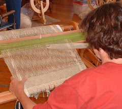 VC Sue weaving