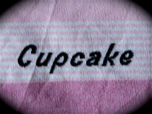 Make it a cupcake! Decorative tea towel.