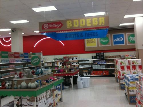 """Target """"bodega"""""""