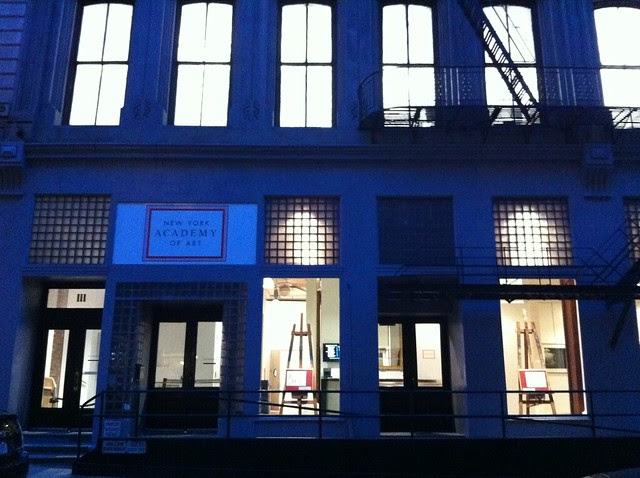 Day 38 New York Academy of Art/Franklin Street