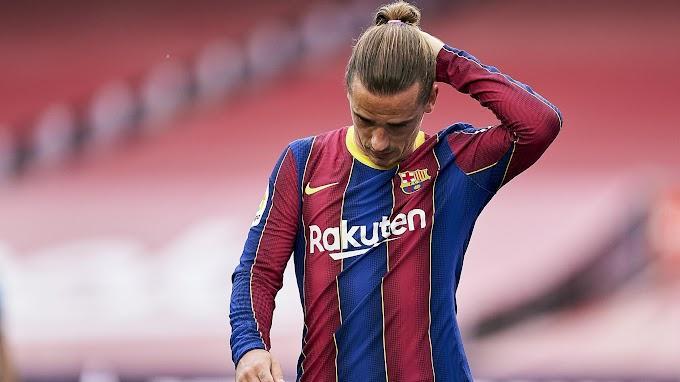 Игроки «Барселоны» обрадовались уходу Антуана Гризманна в «Атлетико»