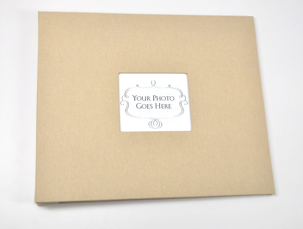 Guestbook With Picture Frame Cover Funeral Guest Books Pinterest