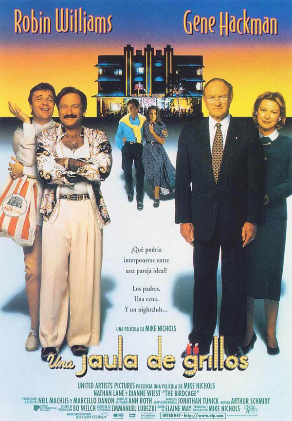 póster de la película Jaula de grillos