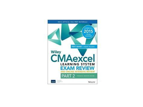 Popular book Wiley CMAexcel Learning System Exam Review