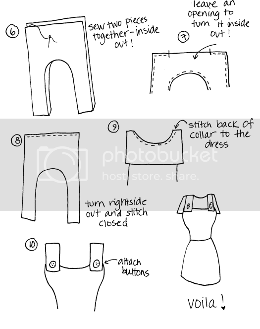 sailor collar diy part 2