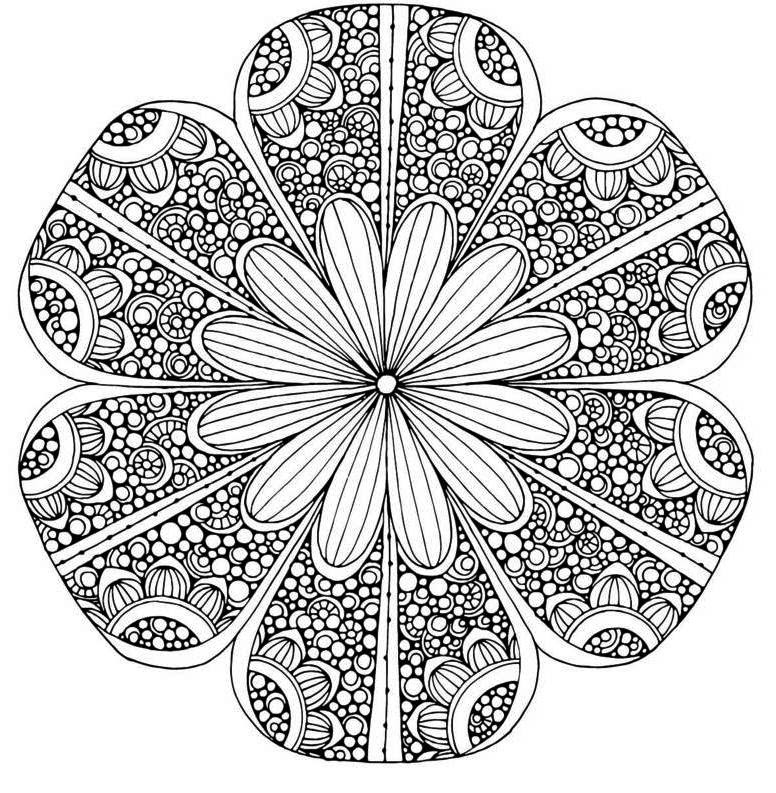 sunflower mandala clip art