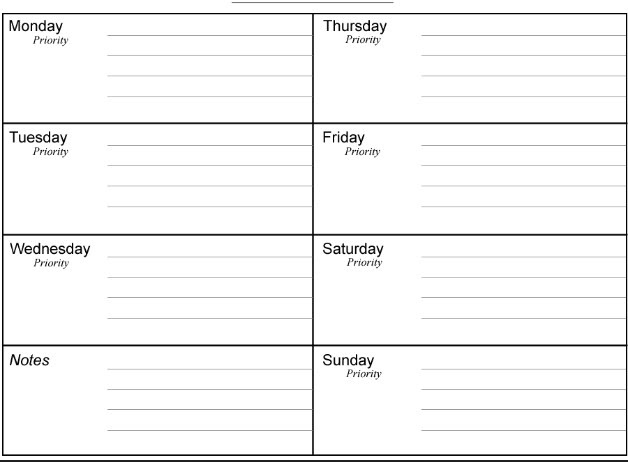 calendar planner template printable daily calendar planner template rHypQW