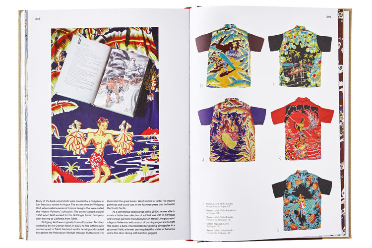 The Aloha Shirt: 384 pages of colorful Hawaiian blouses