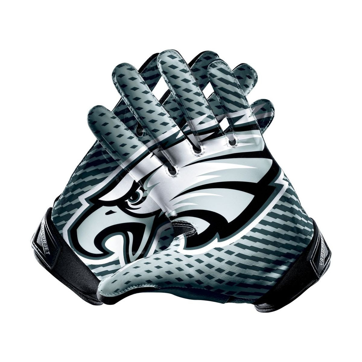 New NFL Mens Nike Vapor Jet 2.0 Elite Receivers Gloves Eagles Size Small draft  eBay