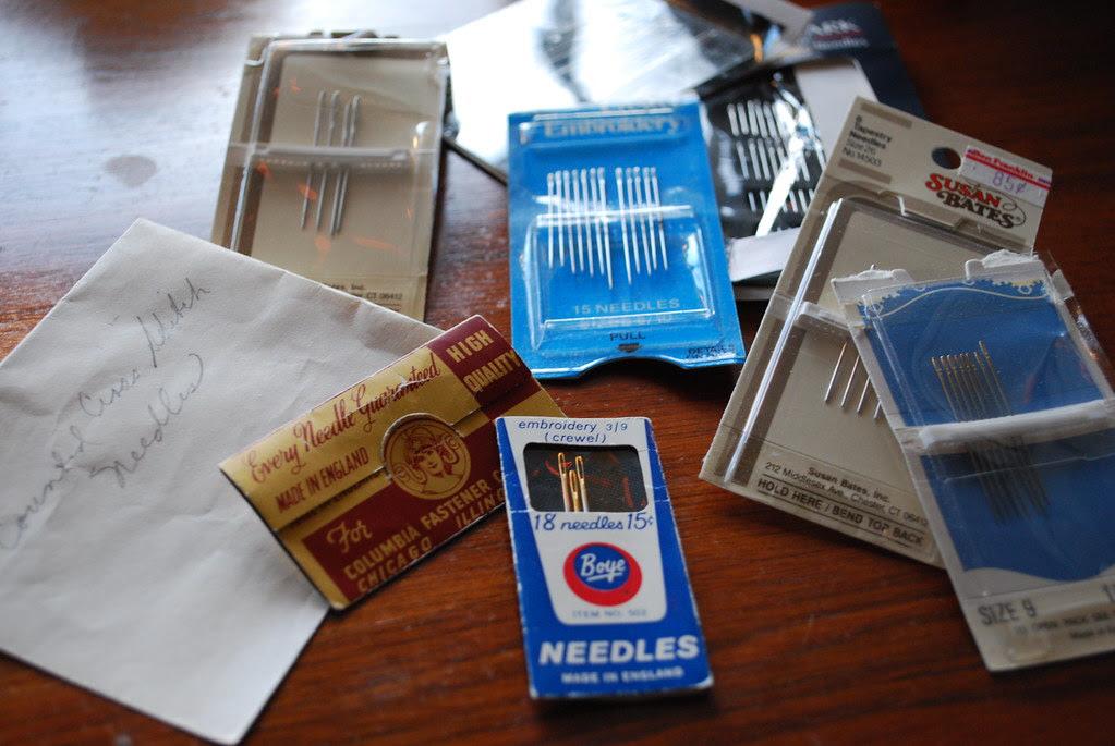 needles...
