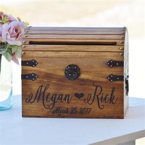 Shabby Chic Wedding Card Box, Rustic Wedding Card Box With
